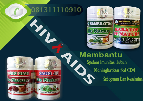 Suplemen Vitamin Herbal HIV AIDS