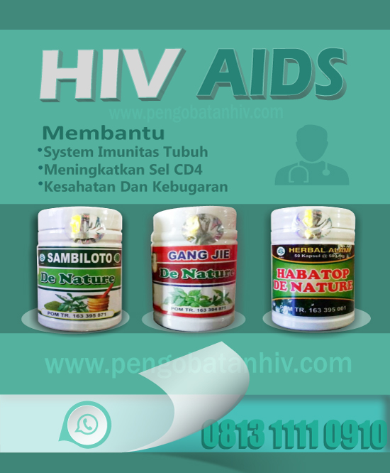Terapi Sambiloto Dan Habbatussauda Untuk HIV AIDS