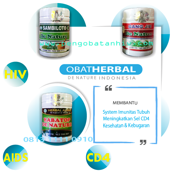 PAKET DENATURE TERAPI HIV HERBAL