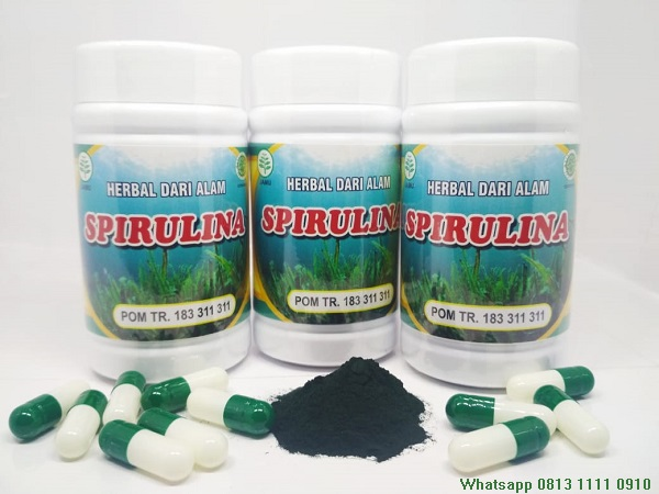 Vitamin Mineral Dan Suplemen Herba Spirulina