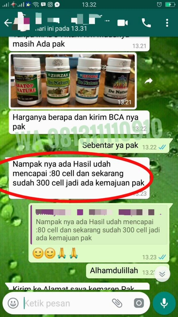 Nilai Normal CD4 sel T darah putih