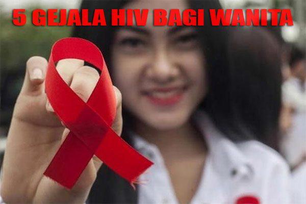 gejela hiv pada wanita
