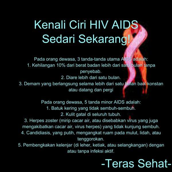 Waspada! 5 Ciri Ciri Penyakit Aids Yang Jarang Disadari