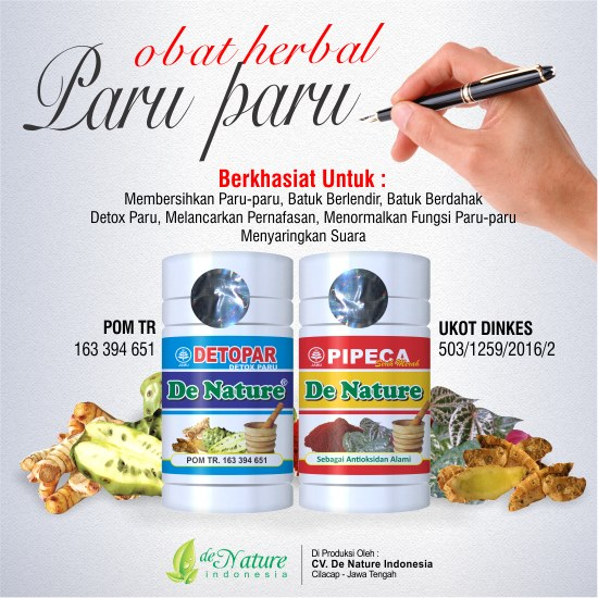 Terapi Tb Paru Cukup 1 Bulan Dengan Herbal De Nature