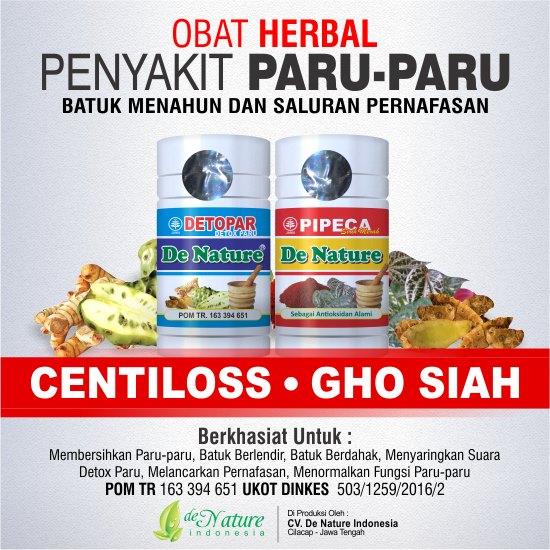 Obat Herbal Tuberkulosis Paru Aman Tanpa Efek Samping