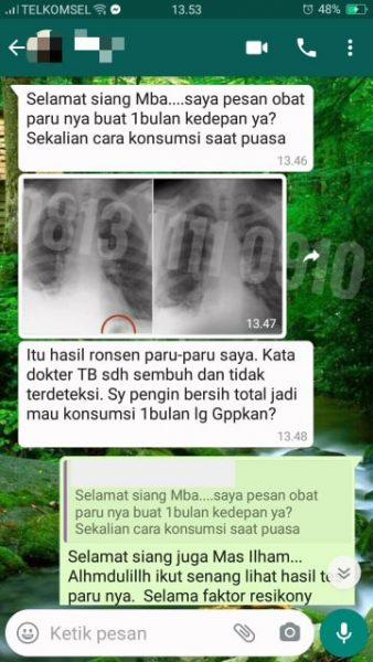 TESTIMONI TBC / TB / PARU PARU SEMBUH TOTAL