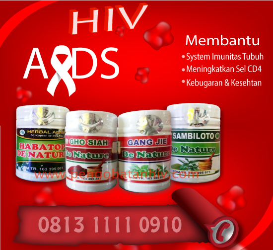 Obat HIV Herbal De Nature Indonesia