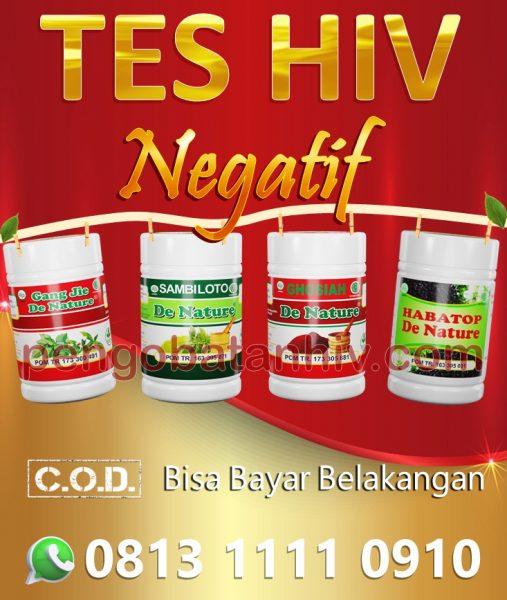 Ubat HIV Herba Paling Berkesan Cukup 6 Bulan Negatif