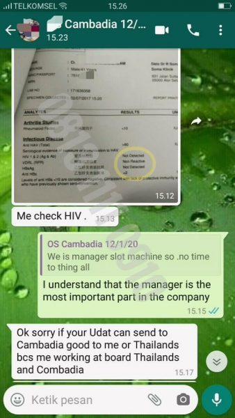 Testimoni Hiv Non Reaktif