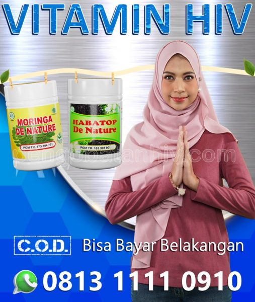 Suplemen Vitamin Herbal Meningkatkan CD4 Normal