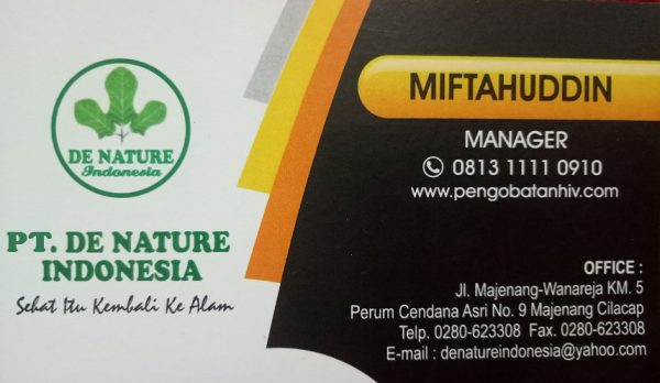 PT De Nature Indonesia Official Website Resmi